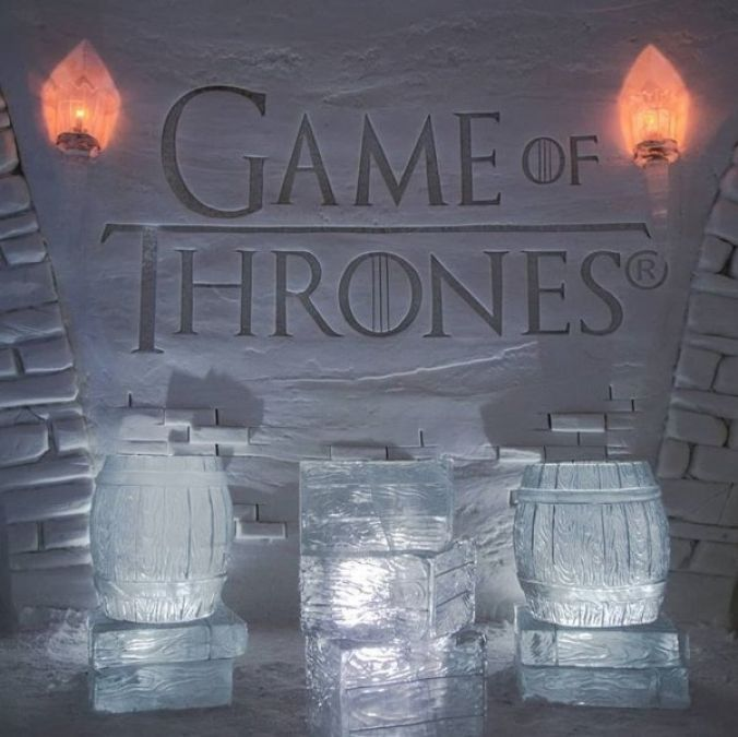 First GoT Themed Ice Hotel opens up in Finland.