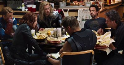 Avengers Endgame star Mark Ruffalo aka Hulk shares Dinner moments of the team