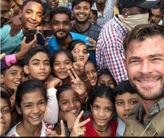 Chris Hemsworth a.k.a Thor arrives in Mumbai, will be shooting for upcoming movie Dhaka