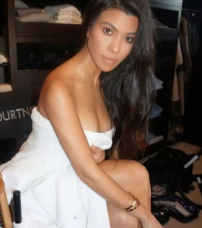 Kourtney Kardashian refutes pregnancy rumours