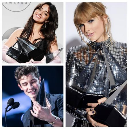 AMA's 2018: Taylor Swift  and Camila Cabello break a record; Shawn Mendes and BTS steal limelight