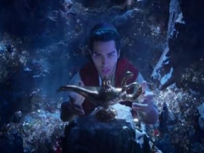 'Aladdin' teaser is out :  Will Smith as the magical Genie Witness introduces a whole new world and Agrabah