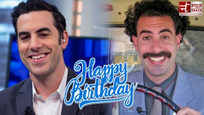 Birthday: Sacha Baron Cohen has made the Hollywood audience laugh with his comic timing
