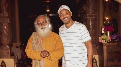 Hollywood star Will Smith shares great memories with Sadhguru