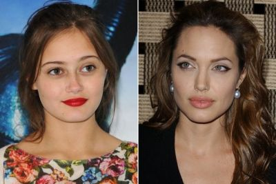 Is Brad Pitt in a relationship with Angelina Jolie's lookalike?