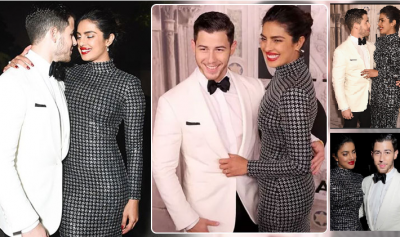 Priyanka and Nick duo at New York Fashion Week after the engagement, See pics