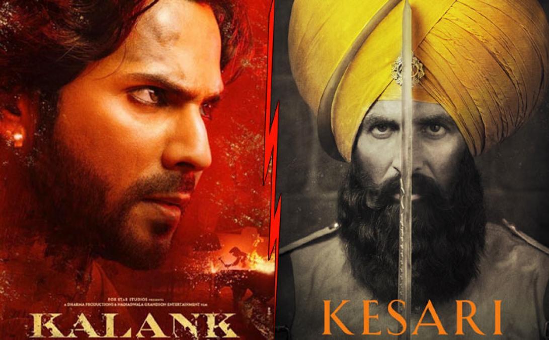 Varun Dhawan and Alia Bhatt's Kalank breaks this record of Kesari on its first day