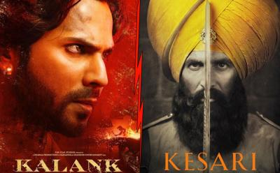 Varun Dhawan and Alia Bhatt's Kalank breaks this record of Kesari on its first day