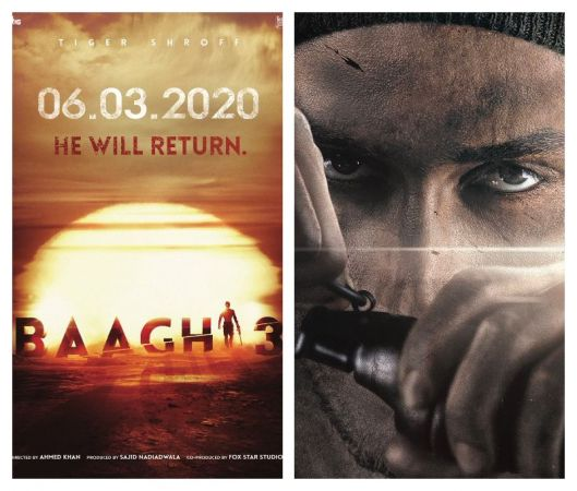 Here is Baaghi 3 FIRST LOOK - Tiger Shroff to knock silver screen as a rebel on March 06, 2020