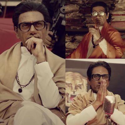 Watch video Thackeray Trailer out: Nawazuddin Siddiqui shines  as Balasaheb
