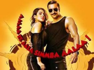 SIMMBA MOVIE REVIEW - Ranveer Singh brings many must watch  and paisa vasool moments sharing captivating chemistry  with Sara Ali Khan