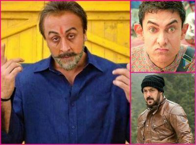 Sanju Box office collection: Ranbir Kapoor is now ahead of Salman Khan, Aamir Khan is the next