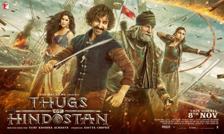 Aamir Khan Starrer Thugs of Hindostan can mint 50 crore on opening day