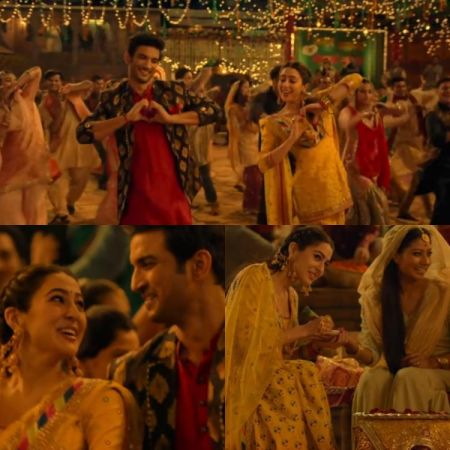 Kedarnath's song Sweetheart out:  Sushant Singh Rajput express his love to  Sara Ali Khan in this new song