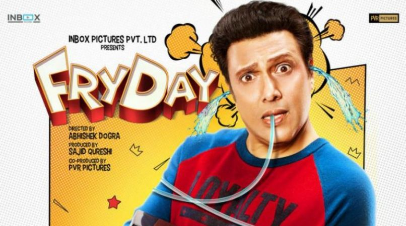 FryDay movie review: Not Film but Govinda's performance is one time watch
