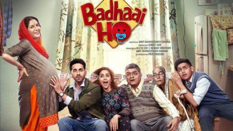 BADHAAI HO MOVIE REVIEW:Ayushmann Khurrana deals perfectly with parents' mid-age romance