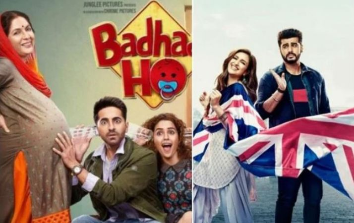 Box office collection prediction : Know is it Badhaai Ho or Namaste England to gain victory at BO this Dussehra