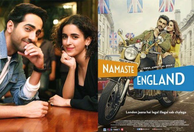 Ayushman's 'Badhaai Ho' backs Arjun's 'Namaste London' in just 4 days after release