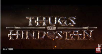 Thug of Hindostan: Watch, Aamir Khan, Amitabh Bachchan, Katrina Kaif starter reveals an intriguing logo