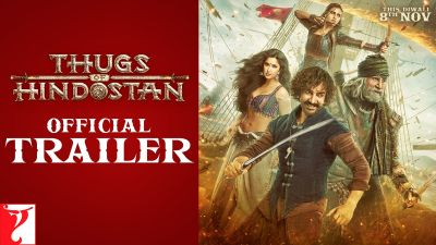 Watch  Thugs of Hindostan trailer is out: