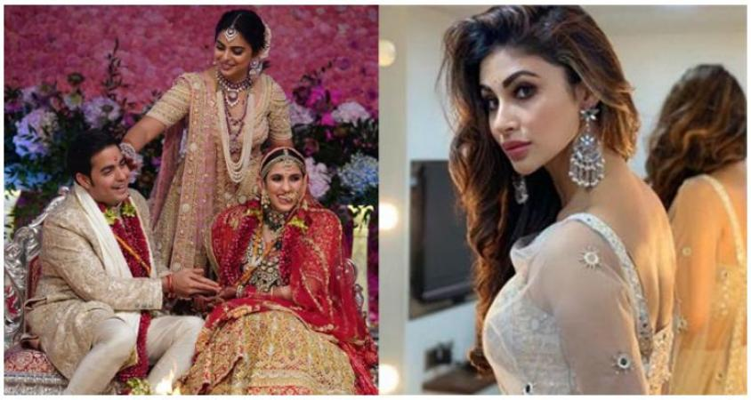 Mouni Roy's fierce insult in the wedding of Akash Ambani