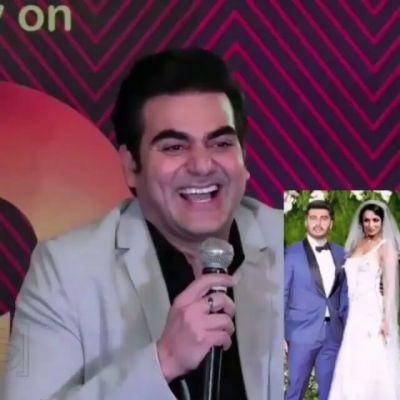 Arbaaz Khan Hillarious reply on Malaika Arora tying knot with Arjun Kapoor…must read