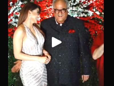 Boney Kapoor get too close to actress Urvashi Rautela? The video goes viral on the internet