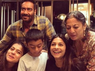 Kajol's sister Tanisha shares a lovely birthday wish for Ajay Devgn, see here
