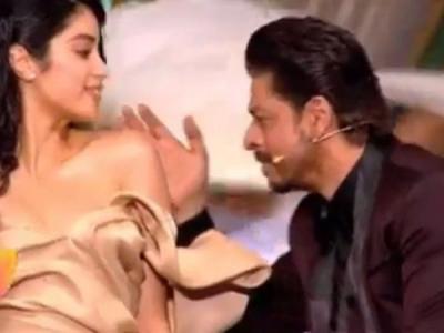 Filmfare Awards 2019: Shah Rukh Khan does a romantic dance with Janhvi Kapoor