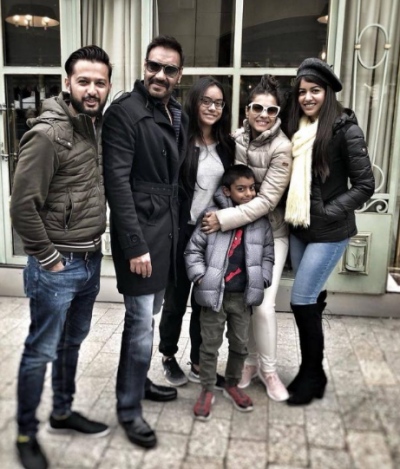 How sweet! Devgn family enjoying vacation in Paris
