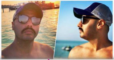 Arjun Kapoor Maldives pics goes all shirtless and Malaika is……see pics inside
