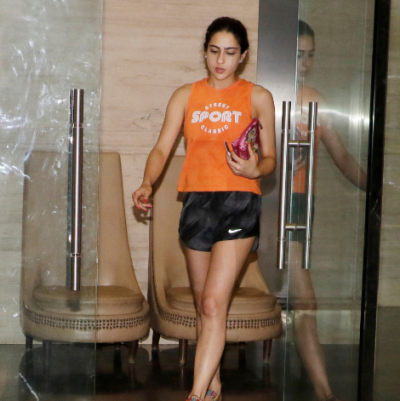 Sara Ali Khan appeared in cool and casual look as she steps out in city