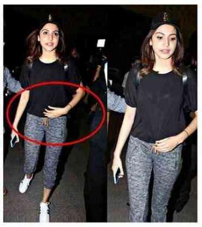 Amid of Pregnancy news, Anushka Shama spotted outside the clinic, look depressed