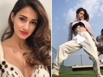 Watch: Disha Patani's killer dance moves on 'I Can't Get Enough' will make your jaw drop