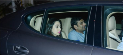 Karisma Kapoor with beau Sandeep visited Saif Ali Khan's residence