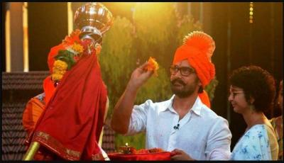 Aamir Khan shares pics with wife Kiran Rao on Gudi Padwa write a message in Marathi