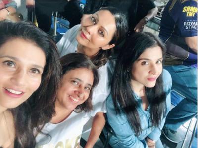 Photos! Gauri Khan enjoys IPL with her girl-gang in Kolkata