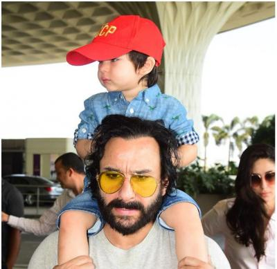 Taimur Ali Khan's spotted in special summer look…missing his smile…Have a look inside