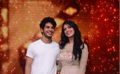 Ishaan Khatter and Malavika Mohanan appeared on the TV show for movie promotion
