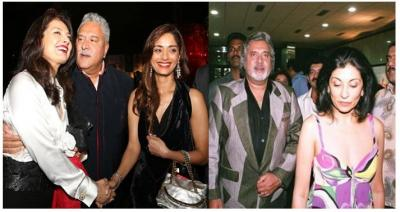 Vijay Mallya has three wives; Do you know what they did? And  What is the way of earing?.....