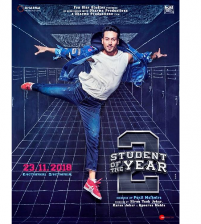 Watch Tiger Shroff's cool look in his 'Student of the Year 2' poster