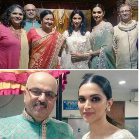 Photos Deepika Padukone Poses With Her Family At A Wedding 1 News
