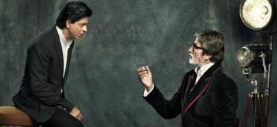 Amitabh Bachchan demands bonus from 'King Khan' after the success of Badla