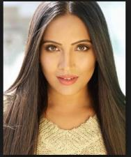 Actress and model Meghna Naidu share her first Bridal pic from her secret wedding