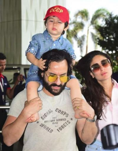 I did not initiate any police complaint against reporters: Saif Ali Khan on clicking Taimur Ali Khan
