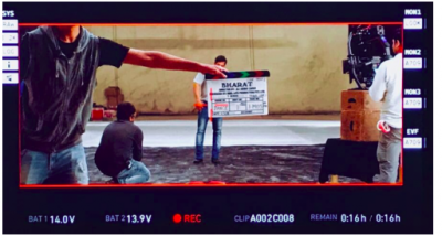 Photo! Salman Khan starts shooting for Ali Abbas Zafar's Bharat