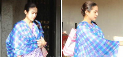 Sara Ali Khan looks pretty in a traditional attire