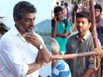 Thalapathy Vijay, Rajinikanth and Kamal Haasan cast their vote