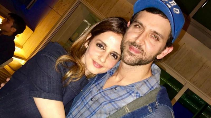 Sussanne Khan's comment on Hrithik Roshan's workout video is worth reading