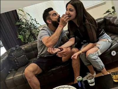 Virat Kohli trying to keep her girls happy in all her way visible in this video…Watch